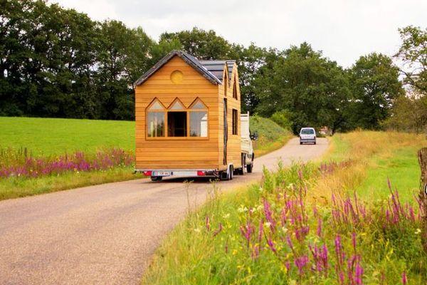 Les Tiny Houses (petites maisons) sont mobiles et minimalistes, un habitat d'un nouveau genre