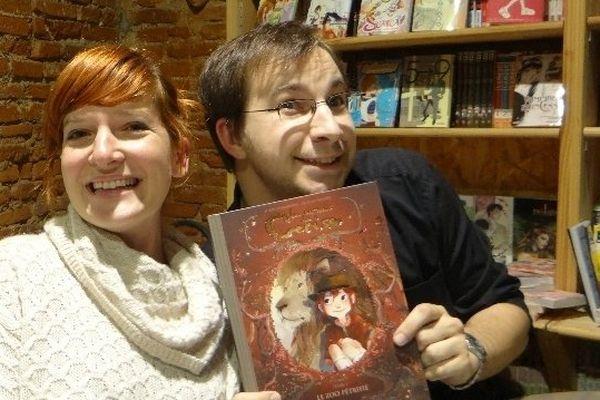 L'illustratrice Aurélie Neyret et le scénariste Joris Chamblain