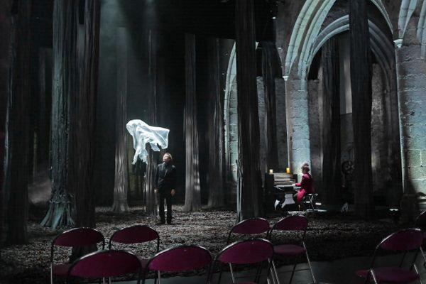 La magie du spectacle, même sans spectateurs