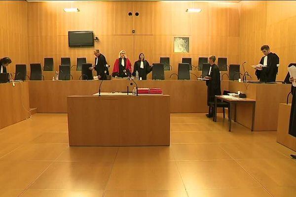 La salle de la cour d'assises du Calvados lors du procès d'Emmanuel Tenret.