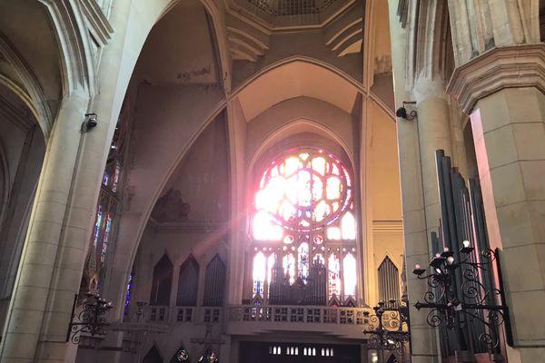 L'église Saint-Nicaise de Rouen est fermée aux cultes depuis 2017 mais garde de sa splendeur.