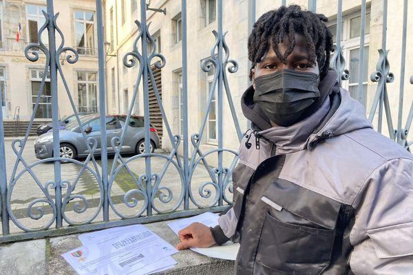 Yaya Camara devant le Tribunal Administratif le 19 janvier 2021