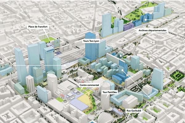 Plan de référence urbain Lyon Part Dieu 2010-2030