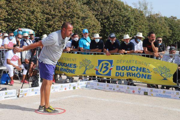 Jean-Michel Puccinelli très précis lors du 8e de finale.