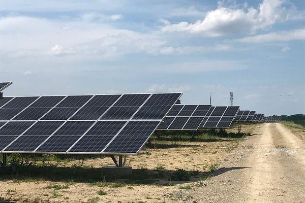 38 000 modules photovoltaïques ont été installés sur 20ha
