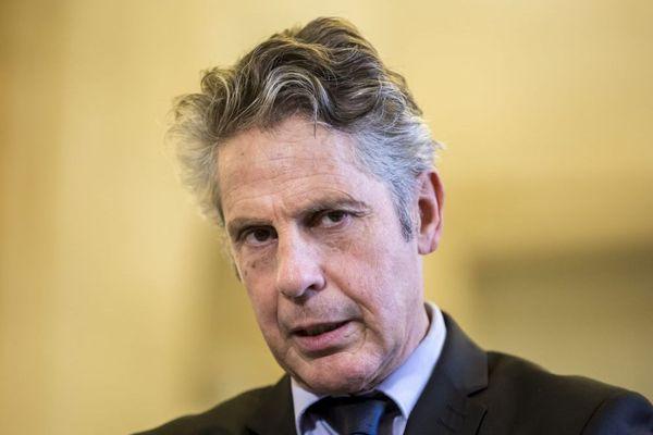 Alain Suguenot, maire LR de Beaune, le 16 novembre 2016
