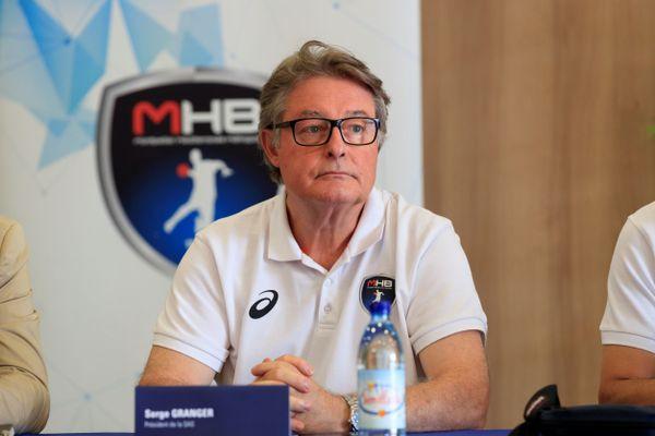 Serge Granger, ancien co-président du MHB de 2014 à 2019. Archives.