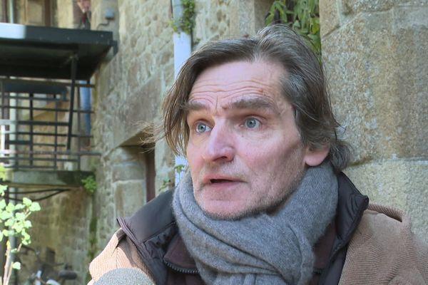 Jean-Yves Lebrec habitant du Mont Saint-Michel
