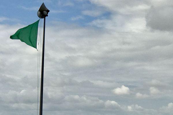 Le drapeau vert est de retour sur les plages de la Conche sud et nord à Saint-Georges-de-Didonne