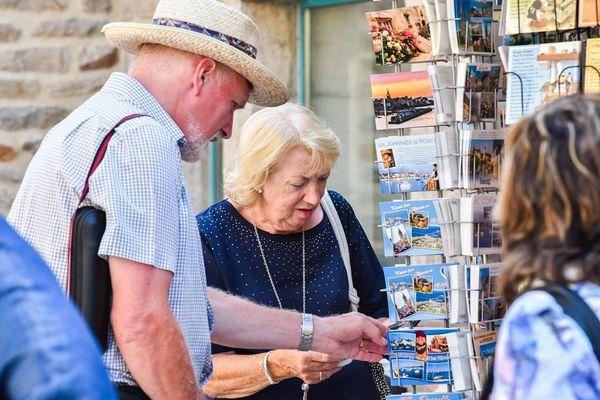 Les touristes en Bretagne