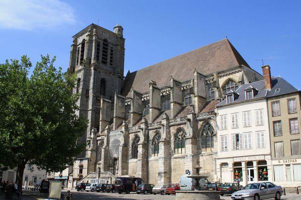 Sézanne - Eglise Saint-Denis.