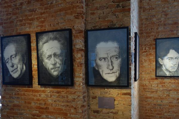 Série de portraits visibles à l'exposition