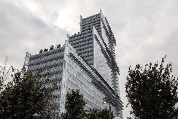 160 mètres de hauteur, 38 étages, 50 ascenseurs...le nouveau Palais de justice ouvrira ses portes le 16 avril prochain.