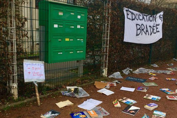 Opération lycée mort à Charles-de-Gaulle à Dijon