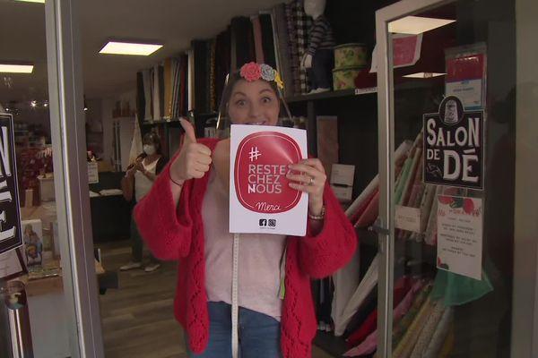 Les commerçants basques s'affichent sur facebook et instagram avec le slogan #restezcheznous pour inciter les consommateurs à opter pour le local