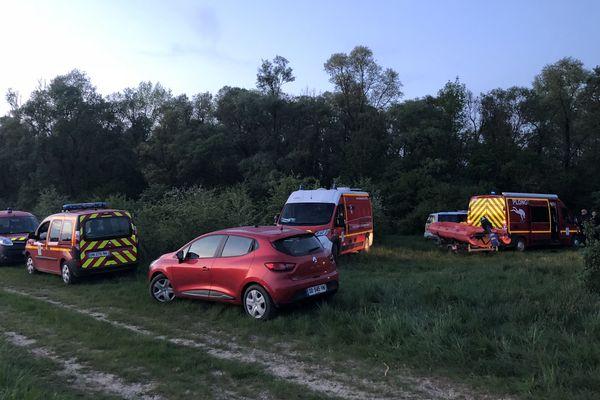 Les secours ont retrouvé les corps vers 20h30.
