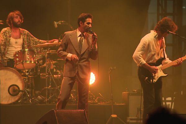 Arthur Teboul (chanteur) et ses compagnons étaient très attendus par le public