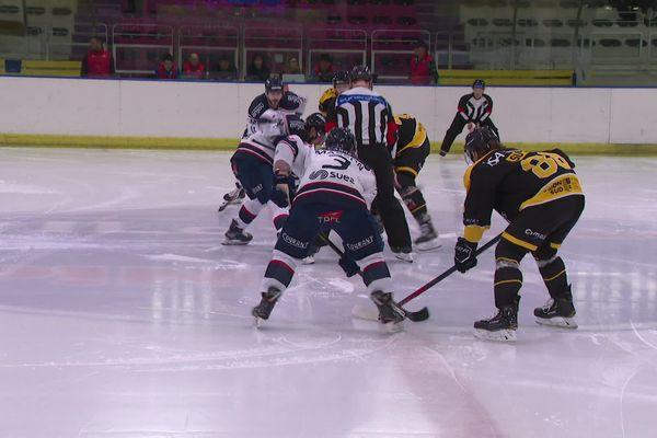 La déconvenue pour les Aigles du Nice Hockey Club qui ne s'envoleront pas vers les plays-off