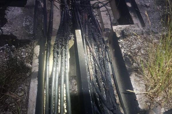 Un acte de sabotage a été commis sur la ligne LGV à hauteur d'Eurre dans la Drôme.