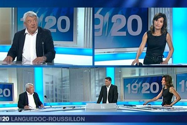 France 3 Languedoc-Roussillon consacre une édition spéciale suite au décès de Christian Bourquin, président de la région le 26 août 2014.