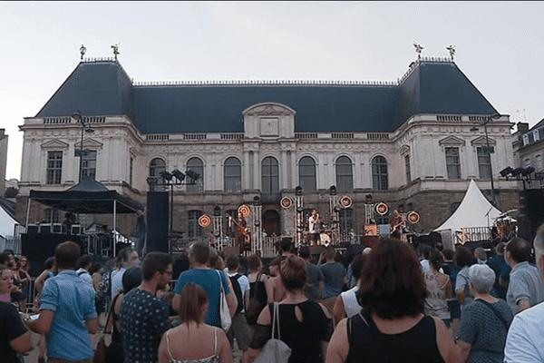Des incidents ont eu lieu à Rennes mercredi soir, lors de la fête de la musique.
