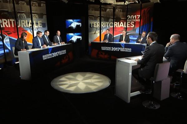 Territoriales : le grand débat du premier tour