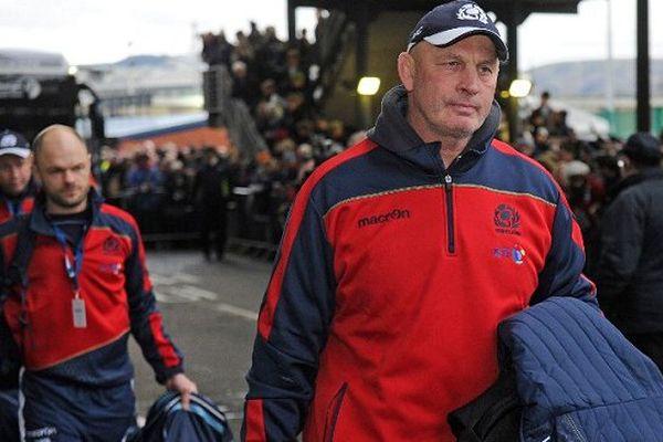 Vern Cotter, l'entraîneur néo-zélandais du XV d'Ecosse