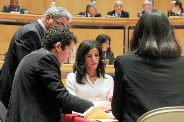 Fatima Allaoui au conseil régional le 30 septembre 2014