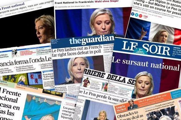 La presse internationale s'est beaucoup intéressée au scrutin et analyse les résultats finaux.