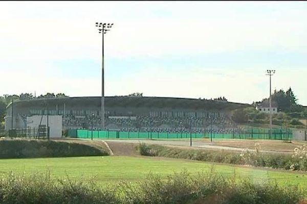 Le stade de rugby de Montluçon.