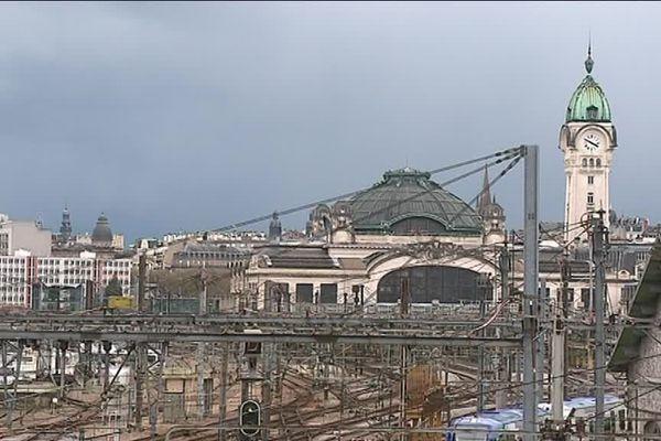 La gare de Limoges Bénédictins
