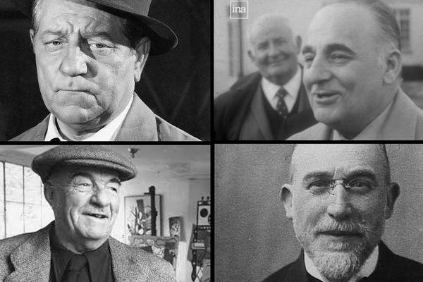 Jean Gabin, Bruno Coquatrix, Fernand Léger et Erik Satie : quatre artistes célèbres de Normandie