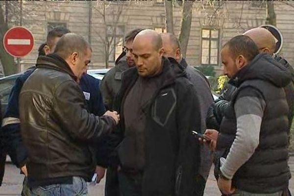 Une délégation de salariés de Mory Ducros a été recue à la préfecture du Rhône lundi