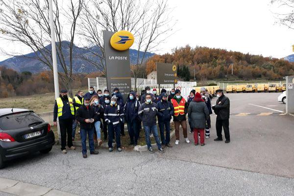 Facteurs en grève à Prades