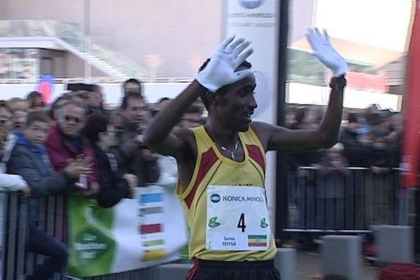 C'est un Ethiopien qui s'est imposé au sprint face à un de ses compatriotes