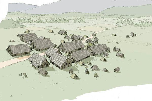 Un village mérovingien a été découvert par les archéologues dans le Haut-Doubs.