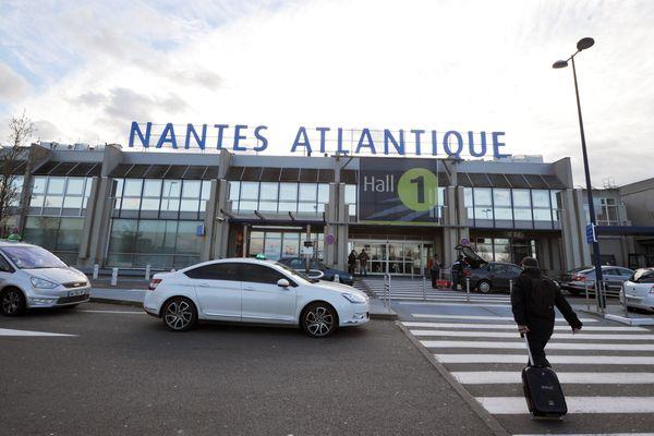 L'aéroport Nantes Atlantique en 2013.