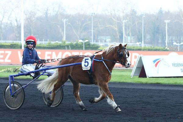 L'hippodrome de Vincennes accueille les championnats de France de trot à poney, depuis cinq ans en 2018.