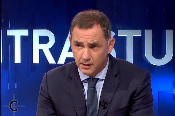 Gilles Simeoni, président du conseil exécutif de Corse, invité du magazine politique Cuntrastu, le 16 septembre 2020.