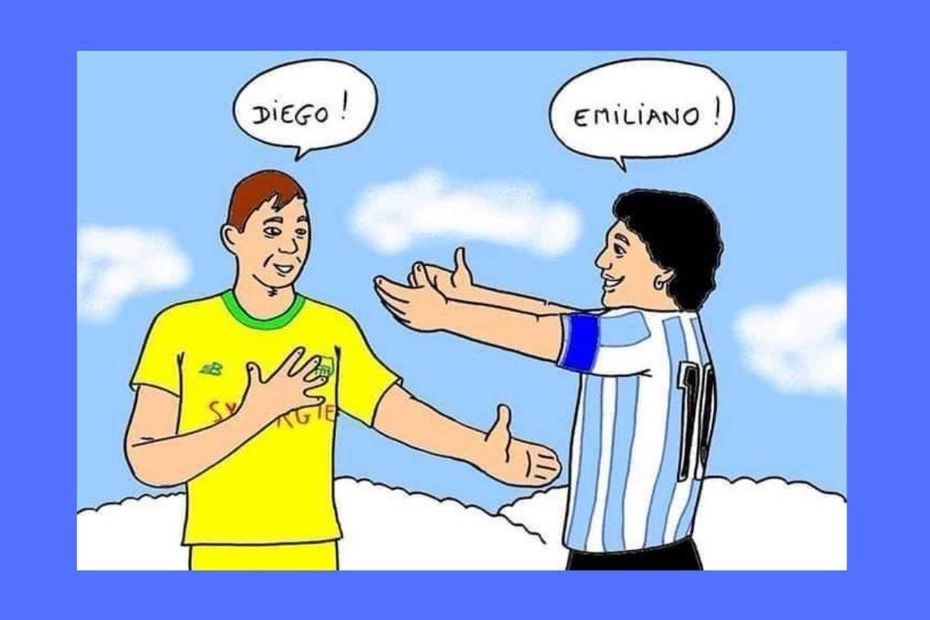 Journaliste picard, son dessin en hommage à Maradona et Sala fait le tour du monde