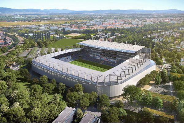 Le cabinet anglais Populous a remporté le marché de la rénovation et de l'extension du Stade de la Meinau. Le démarrage des travaux est prévu en juin 2022 pour une livraison du nouvel écrin strasbourgeois en septembre 2025.