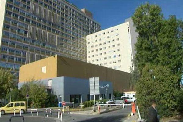 L'hôpital de la Timone à Marseille, où travaillent les jeunes internes