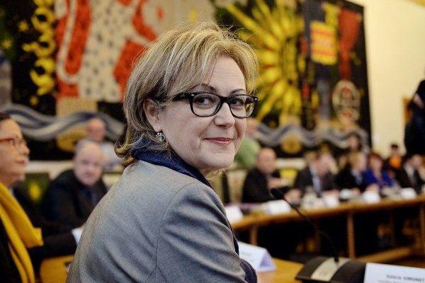 Valérie Simonet, présidente du conseil départemental de la Creuse
