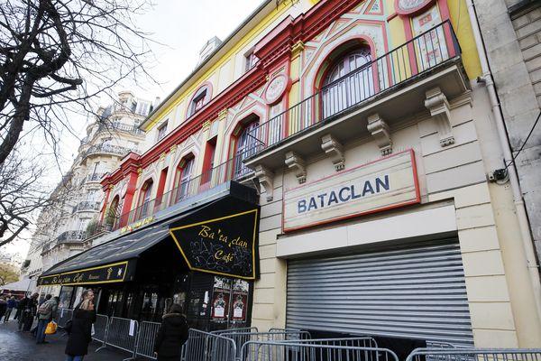 Le Bataclan un mois après les attentats de Paris, en décembre 2015.