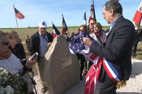Une stèle en hommage à des soldats américains a été inaugurée en Seine-et-Marne.