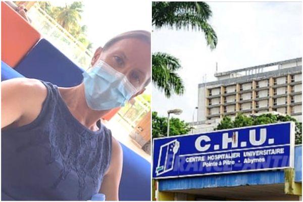 Infirmière rémoise, Laurence Dutoit s'est portée volontaire quinze jours pour assister ses collègues du milieu soignant et médical en Guadeloupe.