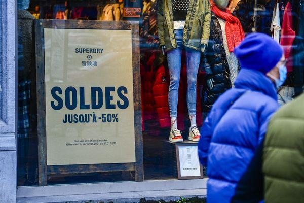 Les soldes belges commencent bien avant les nôtres, en France.