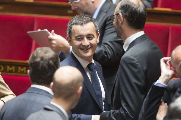 Gérald Darmanin, le 5 juillet 2017, à l'Assemblée nationale.