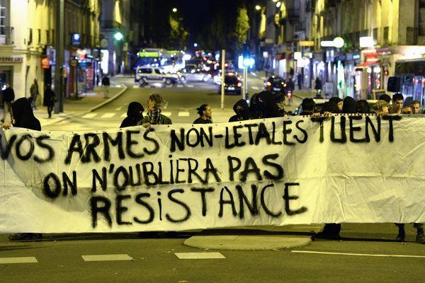 La mort de Rémi Fraisse avait entraîné de violentes manifestations