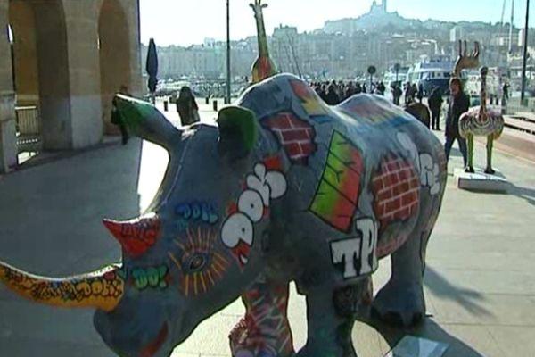 Un autre rinoceros de Funny Z'animaux